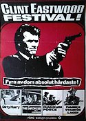 Clint Eastwood festival 1980 poster Clint Eastwood