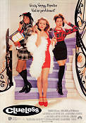 Clueless 1995 Movie poster Alicia Silverstone Amy Heckerling