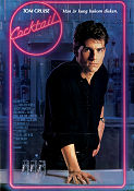 Cocktail 1988 poster Tom Cruise Roger Donaldson