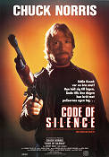 Code of Silence 1985 poster Chuck Norris