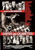Coffee and Cigarettes 2004 Movie poster Steve Buscemi Jim Jarmusch