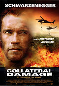 Collateral Damage 2001 Movie poster Arnold Schwarzenegger