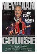 The Color of Money 1986 Movie poster Paul Newman Martin Scorsese