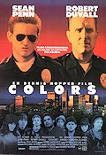 Colors 1988 Movie poster Sean Penn