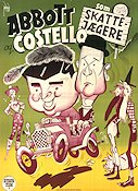 Comin' Round the Mountain 1951 Movie poster Abbott and Costello