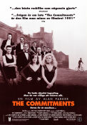 The Commitments 1991 poster Robert Arkins Alan Parker