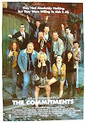 The Commitments 1991 Movie poster Robert Arkins Alan Parker
