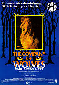 The Company of Wolves 1984 poster Angela Lansbury Neil Jordan