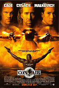 Con Air 1997 Movie poster Nicolas Cage