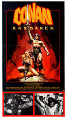 Conan the Barbarian 1982 Movie poster Arnold Schwarzenegger