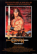 Conan the Destroyer 1984 Movie poster Arnold Schwarzenegger Richard Fleischer