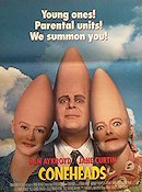 The Coneheads 1993 Movie poster Dan Aykroyd