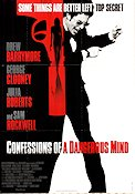 Confessions of a Dangerous Mind 2002 poster Drew Barrymore