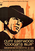 Coogan's Bluff 1968 Movie poster Clint Eastwood