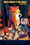 Cool World 1992 Movie poster Kim Basinger Ralph Bakshi