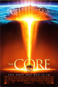 The Core 2003 Movie poster Aaron Eckhart