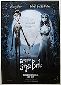 Corpse Bride 2005 Movie poster Johnny Depp Tim Burton