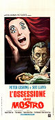 L'ossessione del Mostro 1969 Movie poster Peter Cushing