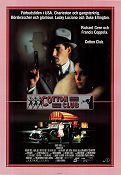 The Cotton Club 1984 Movie poster Richard Gere Francis Ford Coppola