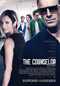 The Counselor 2013 poster Michael Fassbender Ridley Scott