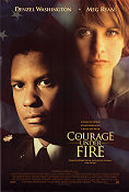 Courage Under Fire 1996 poster Denzel Washington