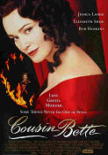 Cousin Bette 1998 Movie poster Jessica Lange