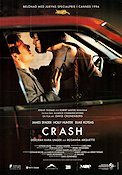 Crash 1996 poster James Spader David Cronenberg