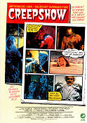 Creepshow 1982 Movie poster Hal Holbrook George A Romero