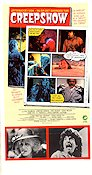 Creepshow 1982 Movie poster Hal Holbrook