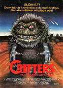 Critters 1986 Movie poster Dee Wallace Stone Stephen Herek