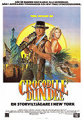 Crocodile Dundee 1986 poster Paul Hogan