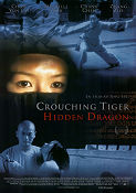 Crouching Tiger Hidden Dragon 2000 poster Chow Yun Fat Ang Lee