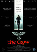 The Crow 1994 poster Brandon Lee Alex Proyas