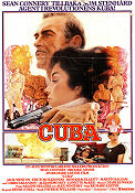 Cuba 1979 poster Sean Connery Richard Lester