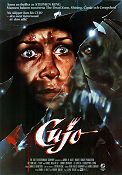 Cujo 1983 Movie poster Dee Wallace