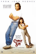 Curly Sue 1991 Movie poster James Belushi John Hughes