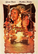 Cutthroat Island 1995 Movie poster Geena Davis Renny Harlin