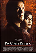 The Da Vinci Code 2006 Movie poster Tom Hanks