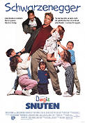 Kindergarten Cop 1990 Movie poster Arnold Schwarzenegger