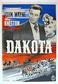 Dakota 1947 Movie poster John Wayne