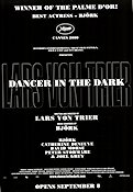 Dancer in the Dark 1999 Movie poster Björk Lars von Trier