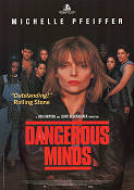 Dangerous Minds 1995 Movie poster Michelle Pfeiffer