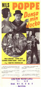 Dansa min docka 1953 Movie poster Nils Poppe
