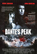 Dante's Peak 1996 Movie poster Pierce Brosnan