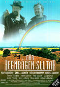 D�r regnb�gen slutar 1999 Movie poster Rolf Lassg�rd Richard Hobert