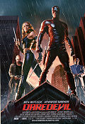 Daredevil 2003 Movie poster Ben Affleck