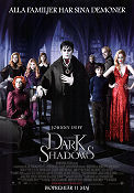 Dark Shadows 2012 poster Johnny Depp Tim Burton