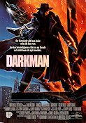 Darkman 1990 Movie poster Liam Neeson