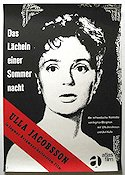 Smiles of a Summer Night 1956 poster Ulla Jacobsson Ingmar Bergman
