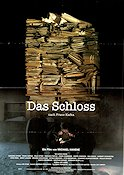 Das Schloss 1997 Movie poster Susanne Lothar Michael Haneke